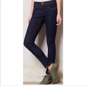 ANTHROPOLOGIE Pilcro Serif Skinny Legging Jeans 29